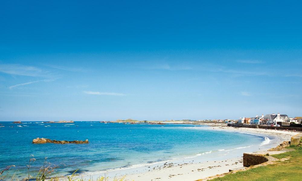 Cobo Bay Guernsey